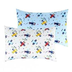 IBraFashion Toddler Pillowcases for Boys 100% Cotton 14x19 A