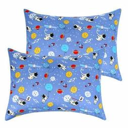 IBraFashion Toddler Pillowcases for Boys and Girls Blue Oute