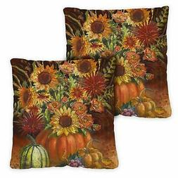 Toland Fall Burst 18 x 18 Inch Indoor Pillow Case