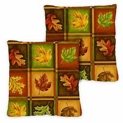 Toland Fall Leaves 18 x 18 Inch Indoor Pillow Case