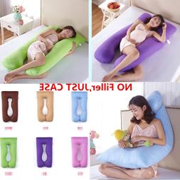U Shape Full Body Maternity Pillow Case Sleeping Support for