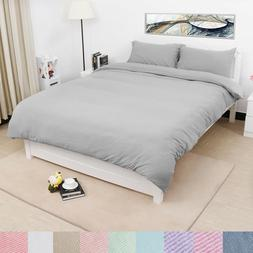 US Duvet Cover Sets with Zipper Closure & Pillow Case - Soli