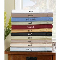 US Full Size  1000TC Egyptian Cotton Sheet Set/Fitted/Flat/D