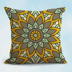 balance wholeness mandala decorative throw pillow case on sa