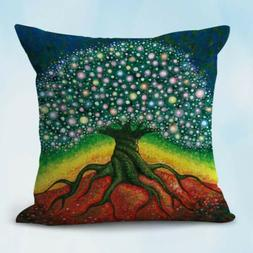 tree of life cushion cover decorative throw pillow case on s