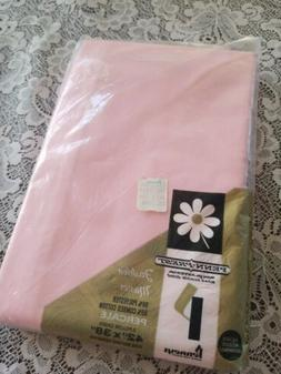 Vintage JC Penney Penn Prest Percale Fashion Manor Pink Pill