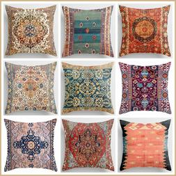 PILLOW COVER Tapestry Kilim Rug Digital Print Home Decor Bed