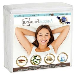 American Pillowcase Pillow Protectors Zippered Queen - Dust