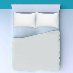 White Solid All Bedding Items Choose Sizes 1000 Thread Count